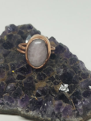 Rose Quartz Ring size 9