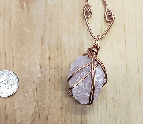 Rose Quartz Necklace 2