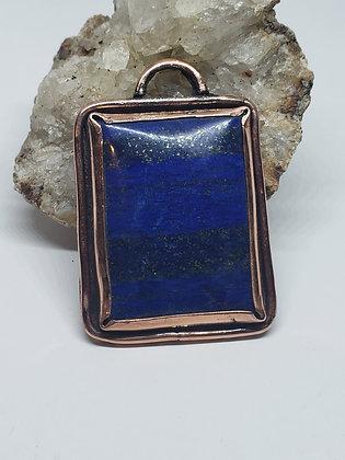 Lapiz Lazuli Rectangular Pendant