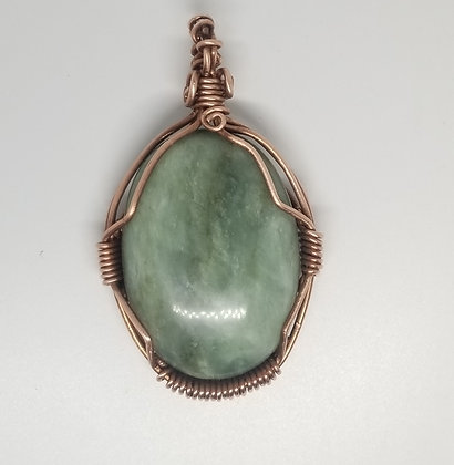 Jade Copper Cage