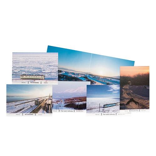 ポストカード『オホーツク流氷ライン』