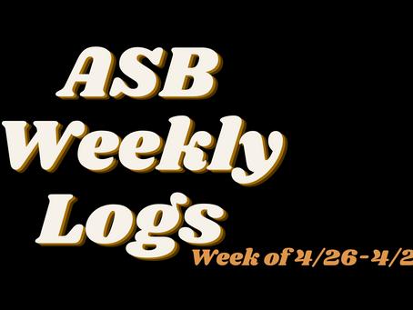 ASB LOGS (4/30)
