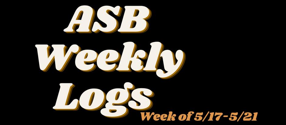 ASB LOGS (5/21)