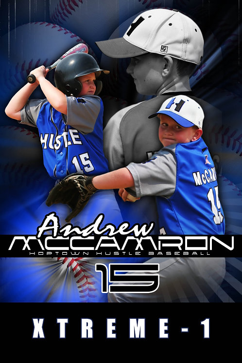 Base Hit Poster Package 20x30 Poster