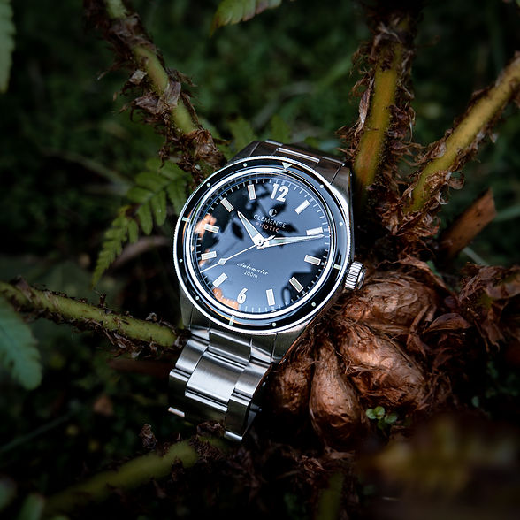 Clemence Watches Photic Diver Climate Positive