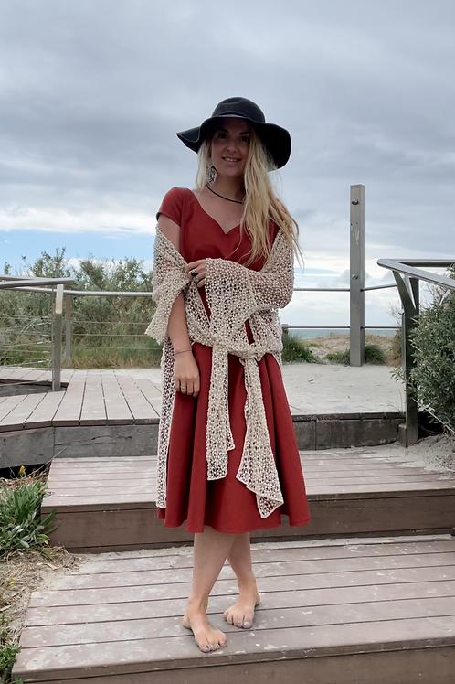 Flare destiny crochet kimono