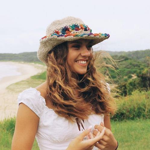 boho hemp hat