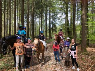 Faszination Pferd bei der Osterferienfreizeit der Lebenshilfe