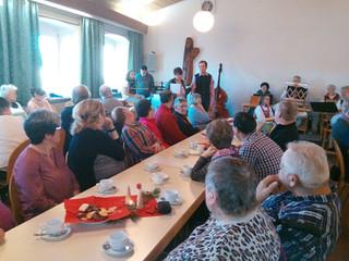 Weihnachtsfeier der Lebenshilfe Ortsgruppe Kißlegg