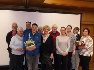 Mitgliederversammlung der Lebenshilfe Württembergisches Allgäu - mit Ehrung langjähriger Mitglieder