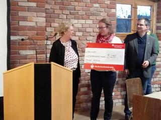 Die Lebenshilfe Württembergisches Allgäu freut sich über eine großzügige Spende
