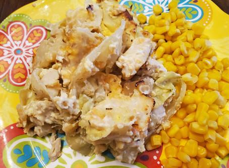 Chicken Cabbage Casserole