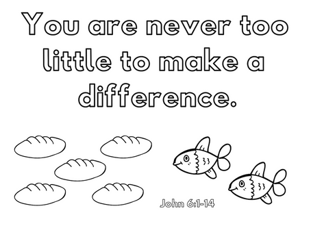 You Are Never Too Little to Make a Difference