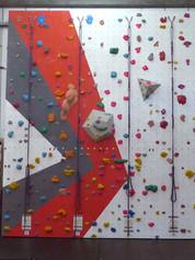 Morley Climbing Wall Side Area