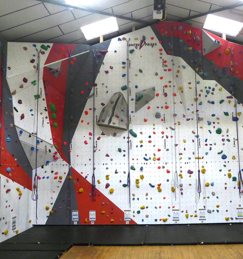 Morley Climbing Wall Main Area