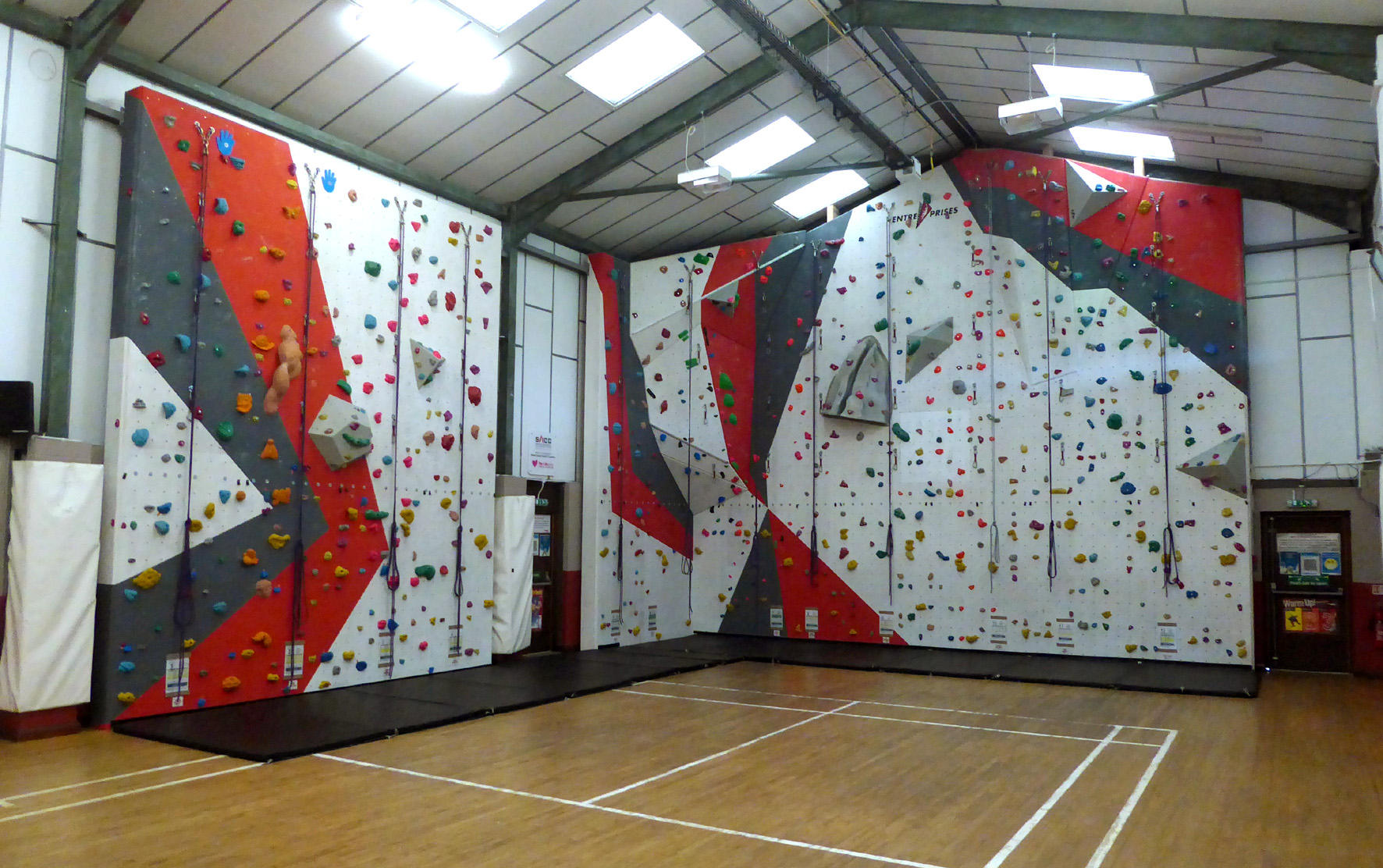 The Morley Climbing Wall