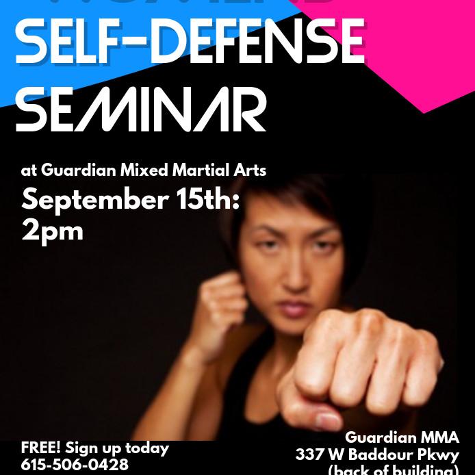 Women's Self-Defense Seminar