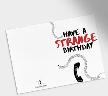 Groovy Stranger Things Inspired Free Birthday Card Printables Personalised Birthday Cards Rectzonderlifede
