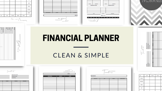 It is a graphic of Printable Financial Planner with regard to student