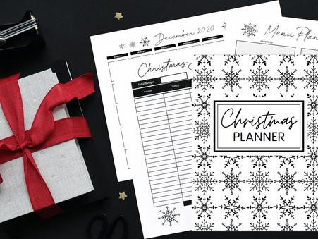 Christmas Planner Bundle FREE Printables