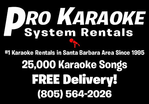 Santa Barbara Karaoke Rentals