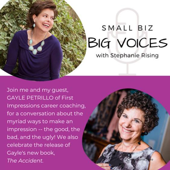 Stephanie Rising – Small Biz, Big Voices