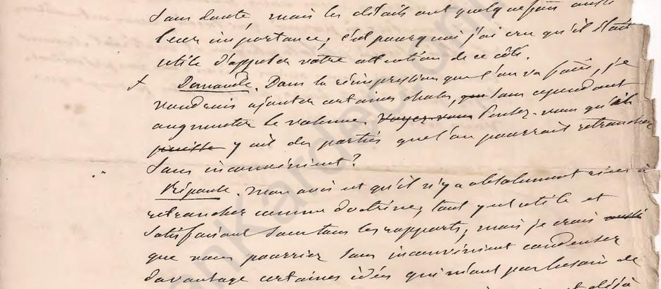 Manuscritos inéditos sobre o livro A Gênese