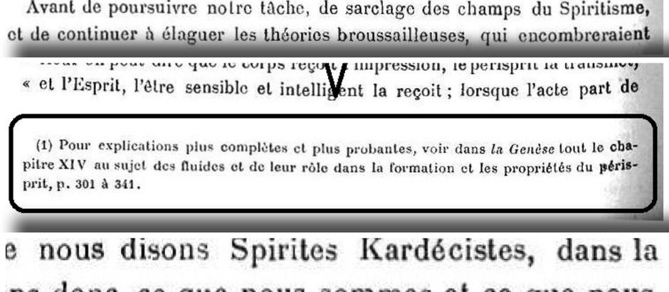 Henri Sausse utiliza a 5a edição de A Gênese em um artigo da Revue Spirite de 1914