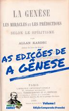 As edições de A Gênese - Volume I (Francês)