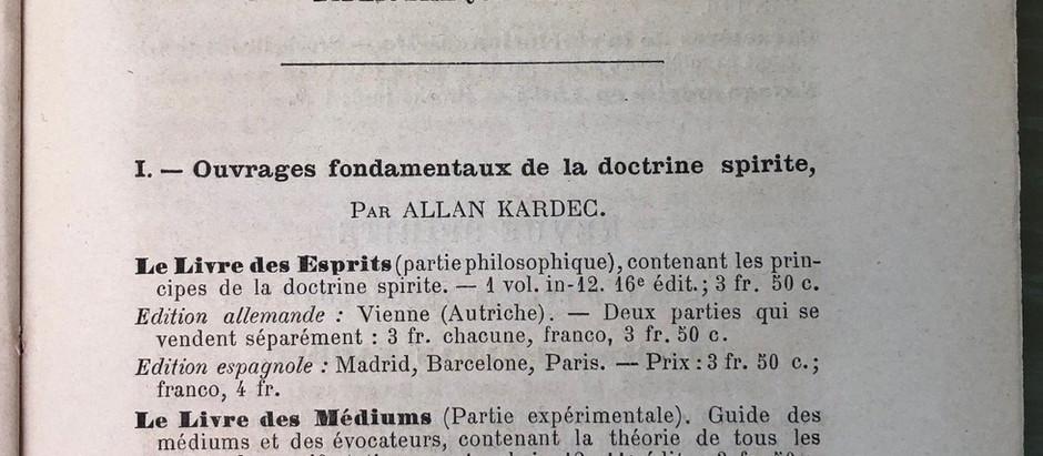 Catálogo Racional das obras para se fundar uma Biblioteca Espírita