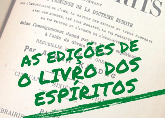 Lançamento: As edições de O Livro dos Espíritos - Volume I (Francês)
