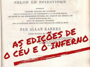 As edições de O Céu e o Inferno - Volume I: Edição Comparada (Francês)