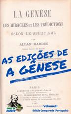 As edições de A Gênese - Volume II (Português)