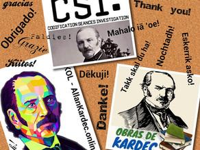 Obrigado mestre! Nossa homenagem ao aniversário do desencarne de Allan Kardec