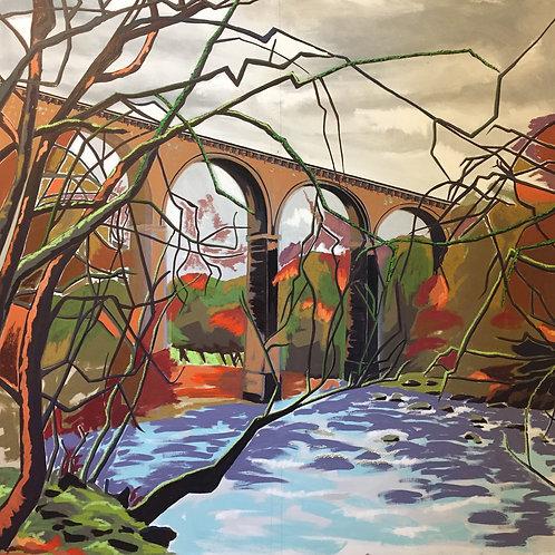 Lambley Viaduct Limited edition print