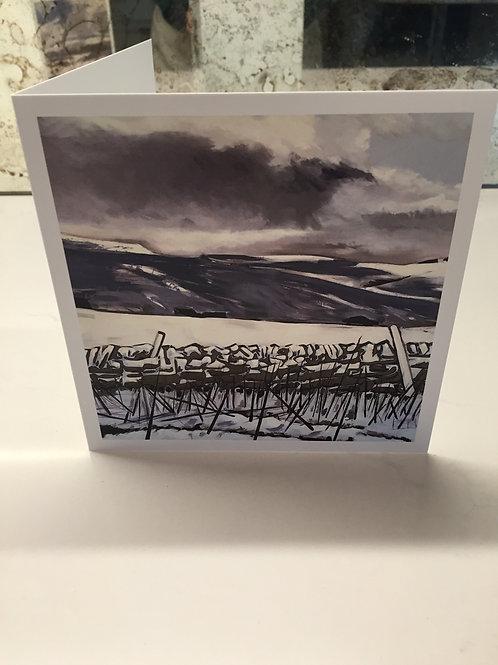 'Road to Hartside' greetings card