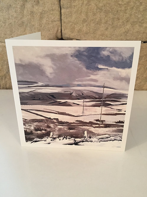 A view from Hartside greetings card