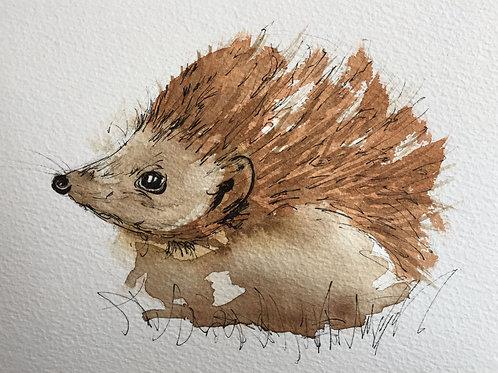 Greetings card 'Spike'