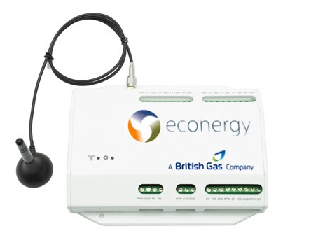 British Gas ECOview monitoring system by Logic Energy