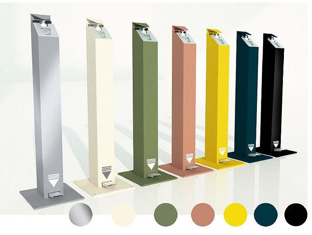 plusieurs-coloris-de-colonnes-gel-hyroal