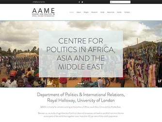 The new AAME centre for politics in Africa, Asia and the Middle East opens
