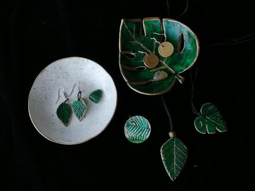 Clay Jewellery: Nature