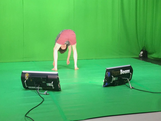 Green screen session