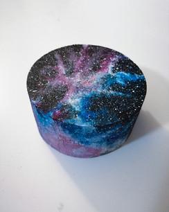 hand-painted Galaxy box
