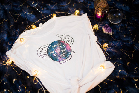 Your Future Is In Your Hands T-shirt
