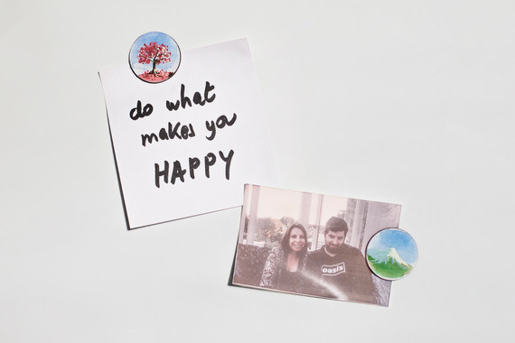Watercolour Magnets