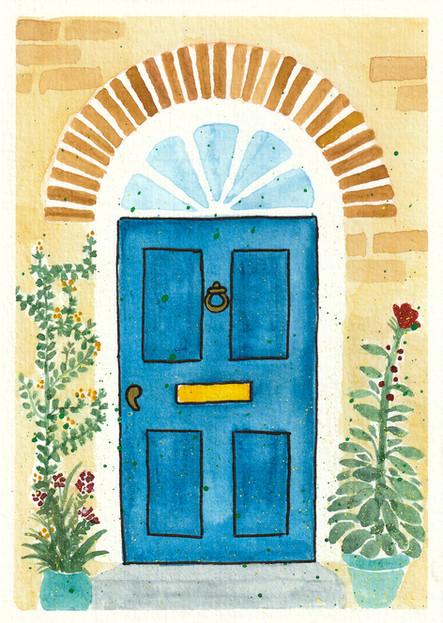 Front Door Card