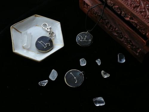 Clay Jewellery: Zodiac sings