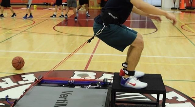 Great _vertimax session today with _mark
