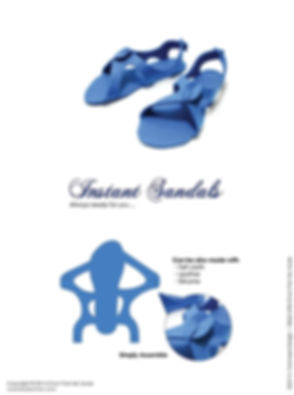 Instant Sandals